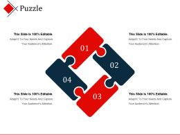 Puzzle Presentation Powerpoint Templates