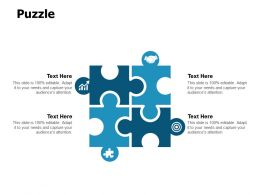 Puzzle Problem A118 Ppt Powerpoint Presentation Summary