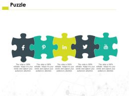 Puzzle Problem H34 Ppt Powerpoint Presentation Pictures Example Introduction