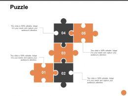 Puzzle Problem L250 Ppt Powerpoint Presentation Pictures Graphics Example