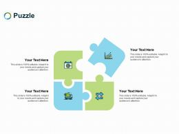 Puzzle Problem L270 Ppt Powerpoint Presentation Design