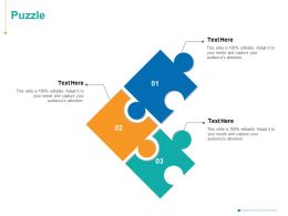 Puzzle Problem Ppt Powerpoint Presentation Inspiration Gallery