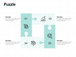 Puzzle Problem Solution A1108 Ppt Powerpoint Presentation Icon Designs