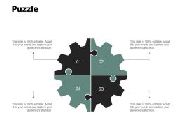 Puzzle Problem Solution A110 Ppt Powerpoint Presentation Gallery Examples