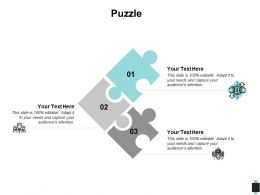 Puzzle Problem Solution C206 Ppt Powerpoint Presentation Outline Slides