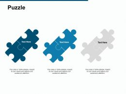 Puzzle Problem Solution C258 Ppt Powerpoint Presentation Gallery Pictures