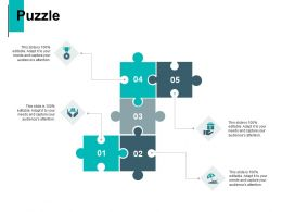 Puzzle Problem Solution C779 Ppt Powerpoint Presentation Professional