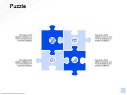 Puzzle Problem Solution C837 Ppt Powerpoint Presentation Slides Professional