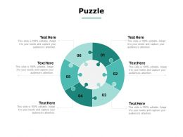 Puzzle Problem Solution C867 Ppt Powerpoint Presentation File Slides