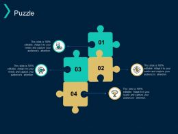Puzzle Problem Solution C95 Ppt Powerpoint Presentation Layouts Format