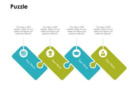 Puzzle Problem Solution D289 Ppt Powerpoint Presentation Infographics Layouts