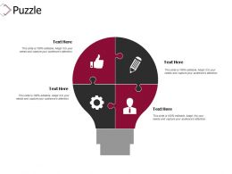 Puzzle Problem Solution D298 Ppt Powerpoint Presentation Infographics Graphics