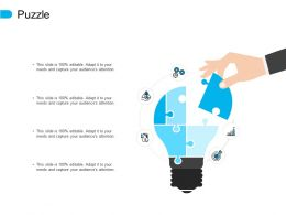 Puzzle Problem Solution E342 Ppt Powerpoint Presentation File Visuals