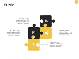 Puzzle Problem Solution E388 Ppt Powerpoint Presentation Styles Samples