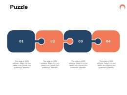 Puzzle Problem Solution L235 Ppt Powerpoint Presentation Sample