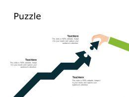 Puzzle Problem Solution L299 Ppt Powerpoint Presentation File Gridlines