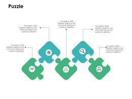 Puzzle Problem Solution L408 Ppt Powerpoint Presentation Slides Tips