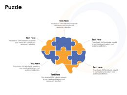 Puzzle Problem Solution L643 Ppt Powerpoint Presentation Layouts