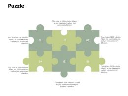 Puzzle Problem Solution Ppt Powerpoint Presentation File Background