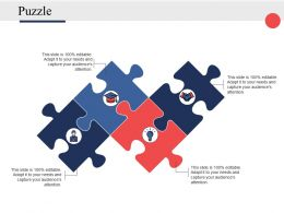 Puzzle Problem Solution Ppt Powerpoint Presentation File Icon