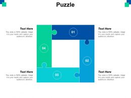 Puzzle Problem Solution Ppt Powerpoint Presentation File Ideas