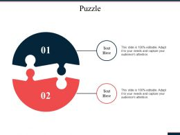 Puzzle Problem Solution Ppt Powerpoint Presentation File Infographic Template