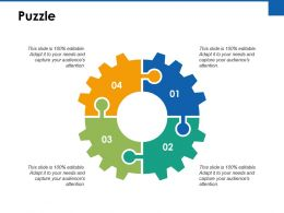 Puzzle Problem Solution Ppt Powerpoint Presentation Gallery Icon