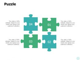 Puzzle Problem Solution Ppt Powerpoint Presentation Gallery Inspiration