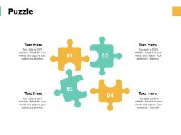 Puzzle Problem Solution Ppt Powerpoint Presentation Gallery Vector