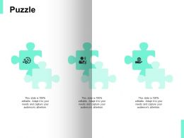 Puzzle Problem Solution Ppt Powerpoint Presentation Icon Slide Portrait
