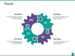 Puzzle Problem Solution Ppt Powerpoint Presentation Icon Summary