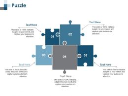 Puzzle Problem Solution Ppt Summary Background Designs