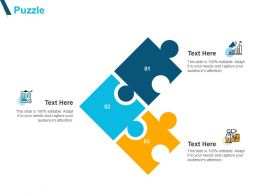 Puzzle Problem Solving F105 Ppt Powerpoint Presentation Pictures Skills