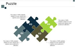 Puzzle Problem Solving I52 Ppt Powerpoint Presentation Slides Icon