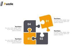 Puzzle Problem Solving K22 Ppt Powerpoint Presentation Show Outfit