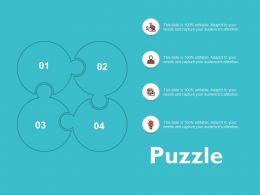 Puzzle Problem Solving Ppt Powerpoint Presentation Show Slideshow