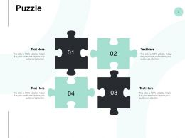 Puzzle Problem Solving Ppt Powerpoint Presentation Styles Themes