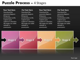 Puzzle Process 4 Stages 96