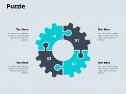Puzzle Process Circular Ppt Powerpoint Presentation Icon Slide