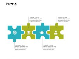Puzzle Slide Solution Ppt Powerpoint Presentation Infographics Ideas