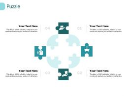 Puzzle Solution I228 Ppt Powerpoint Presentation Gridlines