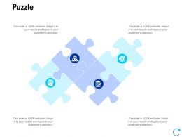 Puzzle Solution L816 Ppt Powerpoint Presentation Layouts Samples