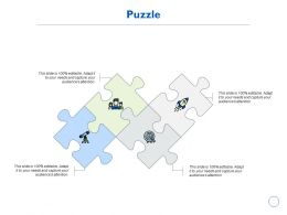 Puzzle Solution Management K199 Ppt Powerpoint Presentation Infographic Deas