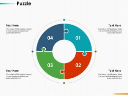 Puzzle Solution Ppt Infographics Design Inspiration