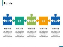 Puzzle Solution Ppt Infographics Example Introduction