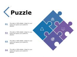 Puzzle Solution Problem Ppt Powerpoint Presentation File Themes
