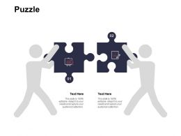 Puzzle Solution Problem Ppt Powerpoint Presentation Ideas Slides