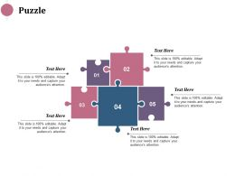 Puzzle Solution Strategy Ppt Infographics Design Inspiration