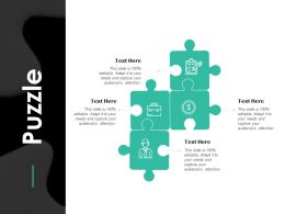Puzzle Strategy Ppt Powerpoint Presentation Gallery Shapes