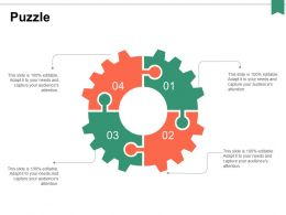 Puzzle Strategy Ppt Powerpoint Presentation Professional Layouts